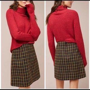Anthropologie Hutch Tweed Skirt NWT S